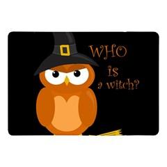 Halloween Orange Witch Owl Apple Ipad Pro 10 5   Flip Case by Valentinaart