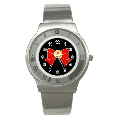 By Fightlikeagirlstudios   Stainless Steel Watch   2wuv5st7gy1q   Www Artscow Com Front
