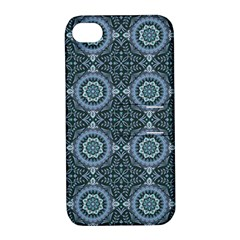 Oriental Pattern Apple Iphone 4/4s Hardshell Case With Stand by ValentinaDesign