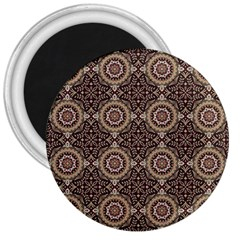 Oriental Pattern 3  Magnets by ValentinaDesign