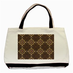 Oriental Pattern Basic Tote Bag (two Sides) by ValentinaDesign