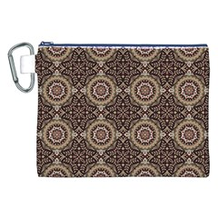Oriental Pattern Canvas Cosmetic Bag (xxl) by ValentinaDesign