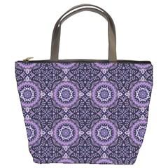 Oriental Pattern Bucket Bags by ValentinaDesign