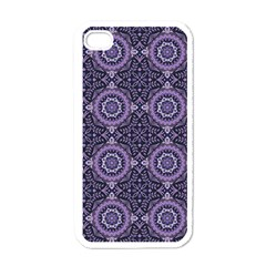 Oriental Pattern Apple Iphone 4 Case (white) by ValentinaDesign