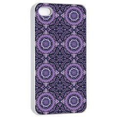 Oriental Pattern Apple Iphone 4/4s Seamless Case (white) by ValentinaDesign