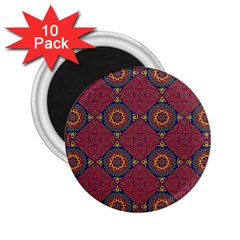 Oriental Pattern 2 25  Magnets (10 Pack)  by ValentinaDesign