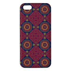 Oriental Pattern Apple Iphone 5 Premium Hardshell Case by ValentinaDesign