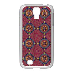 Oriental Pattern Samsung Galaxy S4 I9500/ I9505 Case (white) by ValentinaDesign