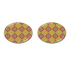 Oriental Pattern Cufflinks (oval) by ValentinaDesign