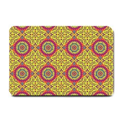 Oriental Pattern Small Doormat  by ValentinaDesign