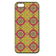 Oriental Pattern Apple Iphone 5 Seamless Case (black) by ValentinaDesign