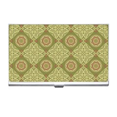 Oriental Pattern Business Card Holders by ValentinaDesign