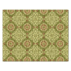Oriental Pattern Rectangular Jigsaw Puzzl by ValentinaDesign