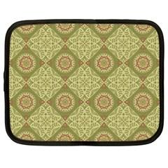 Oriental Pattern Netbook Case (xxl)  by ValentinaDesign