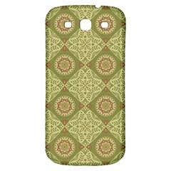Oriental Pattern Samsung Galaxy S3 S Iii Classic Hardshell Back Case by ValentinaDesign