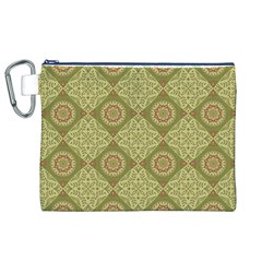 Oriental Pattern Canvas Cosmetic Bag (xl) by ValentinaDesign