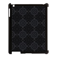 Oriental Pattern Apple Ipad 3/4 Case (black) by ValentinaDesign