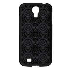 Oriental Pattern Samsung Galaxy S4 I9500/ I9505 Case (black) by ValentinaDesign