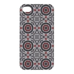 Oriental Pattern Apple Iphone 4/4s Premium Hardshell Case by ValentinaDesign