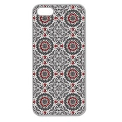 Oriental Pattern Apple Seamless Iphone 5 Case (clear) by ValentinaDesign