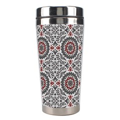 Oriental Pattern Stainless Steel Travel Tumblers by ValentinaDesign