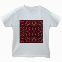 Oriental Pattern Kids White T Shirts by ValentinaDesign