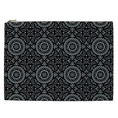Oriental Pattern Cosmetic Bag (xxl)  by ValentinaDesign