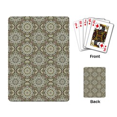 Oriental Pattern Playing Card by ValentinaDesign
