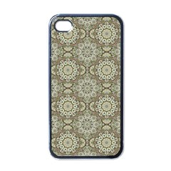 Oriental Pattern Apple Iphone 4 Case (black) by ValentinaDesign