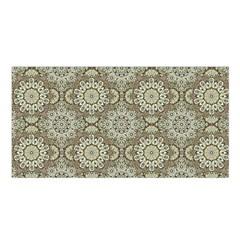 Oriental Pattern Satin Shawl by ValentinaDesign