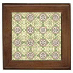 Oriental Pattern Framed Tiles by ValentinaDesign