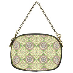 Oriental Pattern Chain Purses (one Side)  by ValentinaDesign