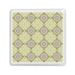 Oriental Pattern Memory Card Reader (square)  by ValentinaDesign