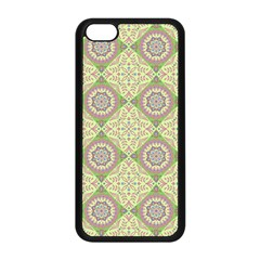 Oriental Pattern Apple Iphone 5c Seamless Case (black) by ValentinaDesign