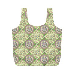Oriental Pattern Full Print Recycle Bags (m)  by ValentinaDesign