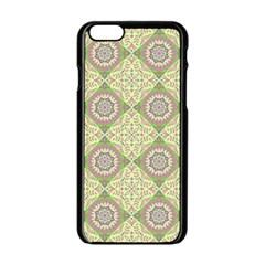 Oriental Pattern Apple Iphone 6/6s Black Enamel Case by ValentinaDesign