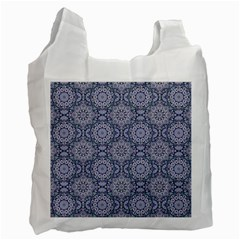 Oriental Pattern Recycle Bag (two Side)  by ValentinaDesign