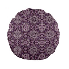 Oriental Pattern Standard 15  Premium Round Cushions by ValentinaDesign