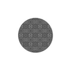 Oriental Pattern Golf Ball Marker by ValentinaDesign