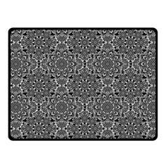 Oriental Pattern Fleece Blanket (small) by ValentinaDesign