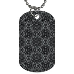 Oriental Pattern Dog Tag (two Sides) by ValentinaDesign
