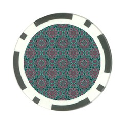Oriental Pattern Poker Chip Card Guard (10 Pack) by ValentinaDesign