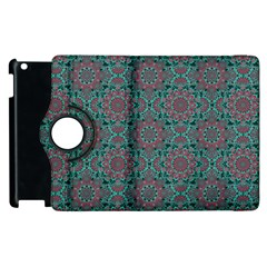 Oriental Pattern Apple Ipad 2 Flip 360 Case by ValentinaDesign