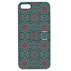 Oriental Pattern Apple Iphone 5 Hardshell Case With Stand by ValentinaDesign