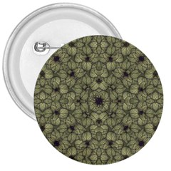 Stylized Modern Floral Design 3  Buttons by dflcprints