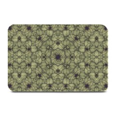 Stylized Modern Floral Design Plate Mats by dflcprints
