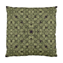 Stylized Modern Floral Design Standard Cushion Case (two Sides) by dflcprints