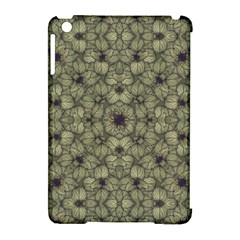 Stylized Modern Floral Design Apple Ipad Mini Hardshell Case (compatible With Smart Cover) by dflcprints