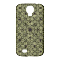 Stylized Modern Floral Design Samsung Galaxy S4 Classic Hardshell Case (pc+silicone) by dflcprints