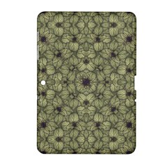 Stylized Modern Floral Design Samsung Galaxy Tab 2 (10 1 ) P5100 Hardshell Case  by dflcprints
